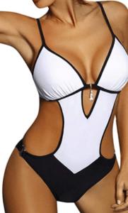trikini blanco roto